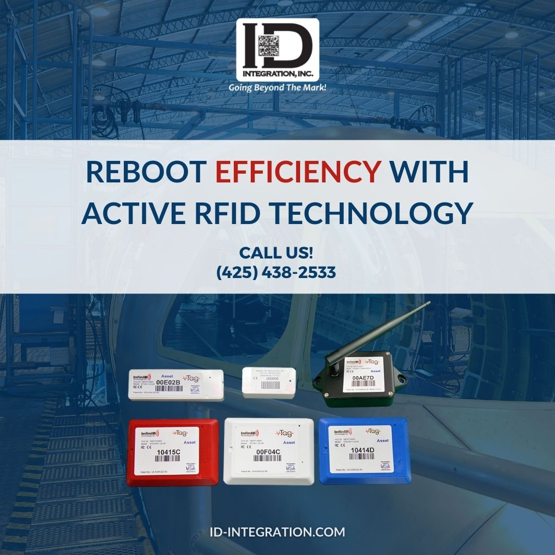 Reboot Efficiency with active RFID technology